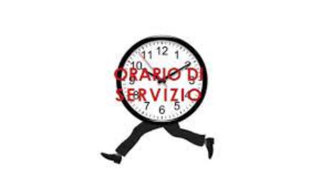 Circ. 18 - Orario di Servizio