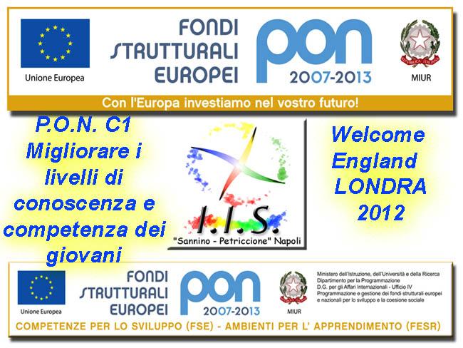 PON C1 WELCOME ENGLAND